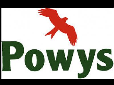 powys council logo